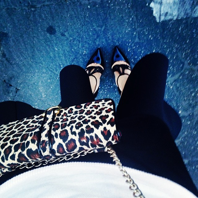 Hallie Daily Leopard Bag