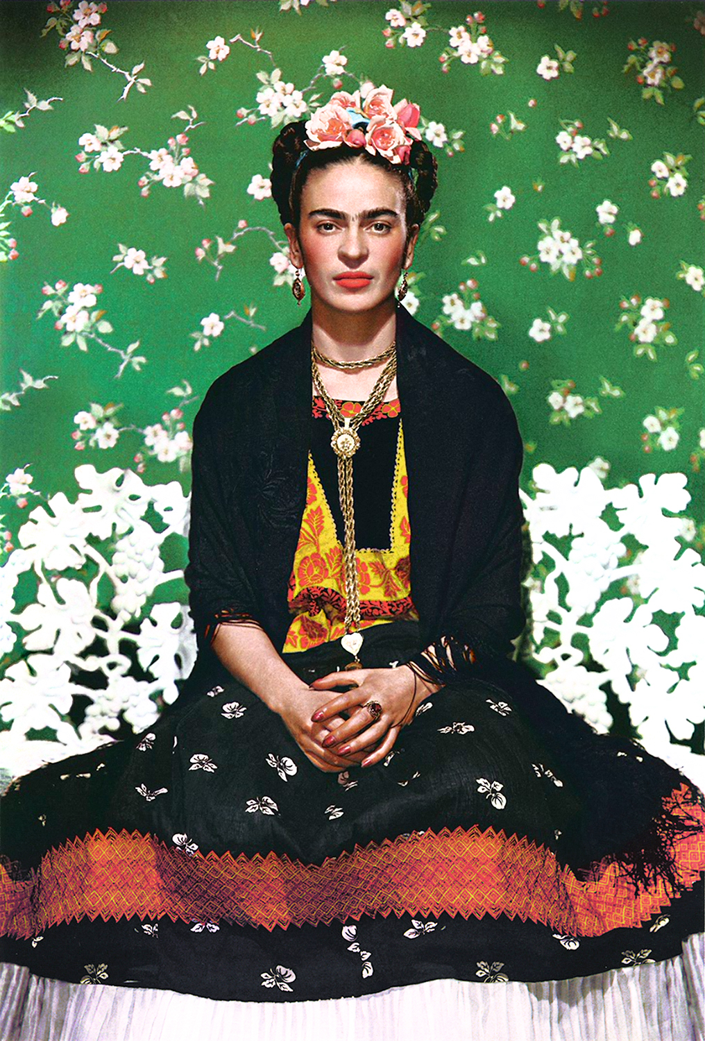 Frida Kahlo Vogue Portrait