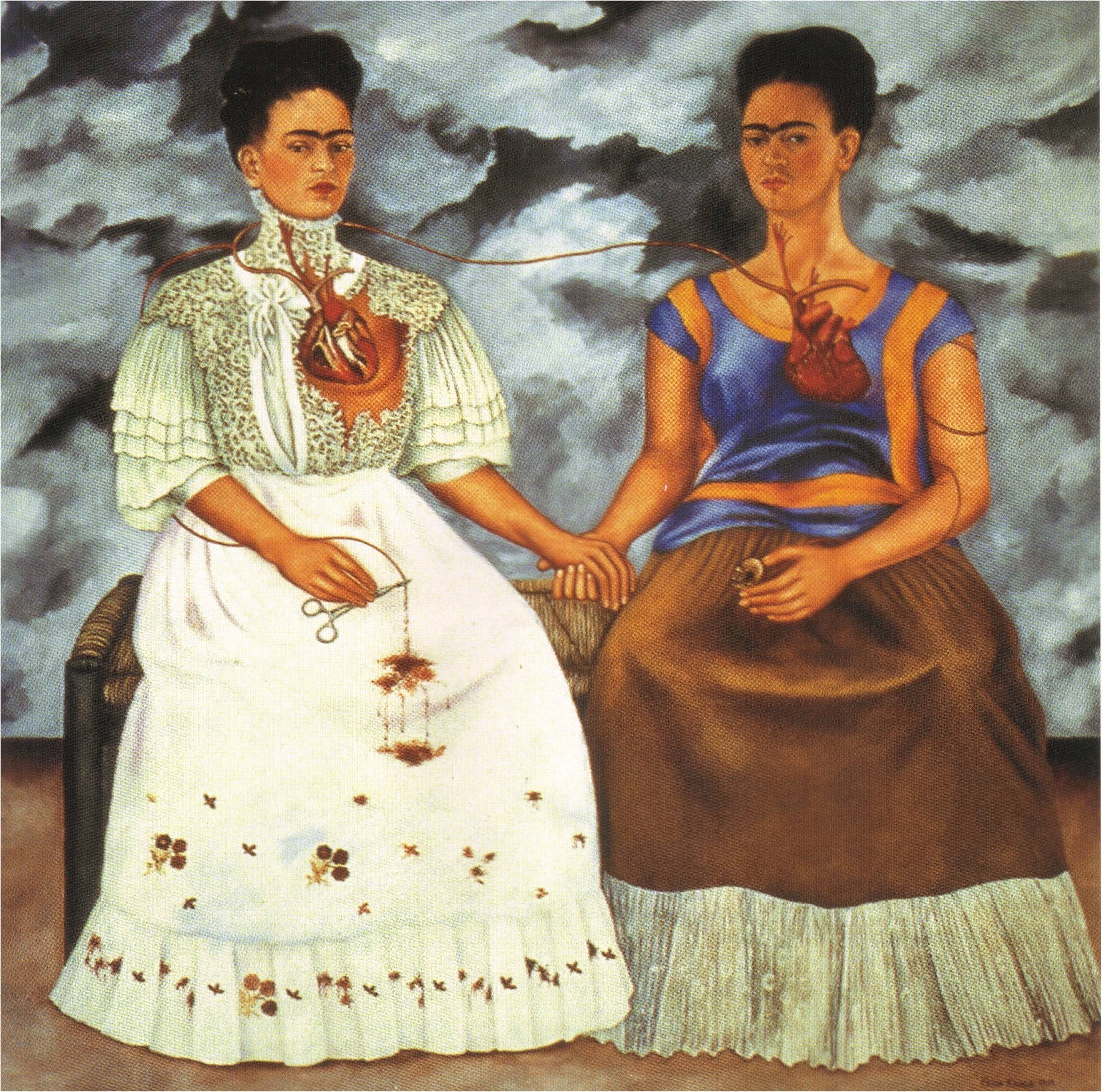 Two Fridas by Frida Kahlo