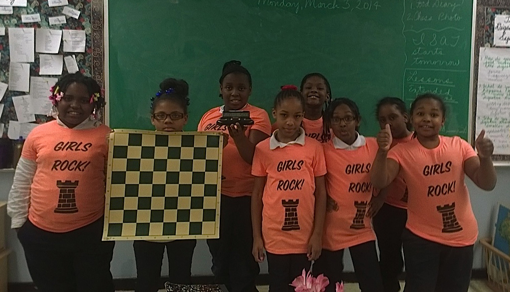 Oglesby All Girls Chess Team