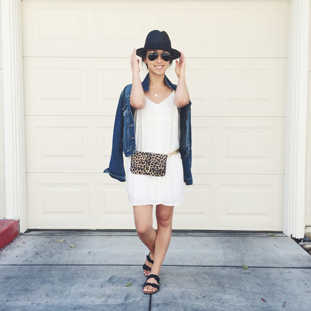 Leopard Fanny Pack / Crystalin Marie