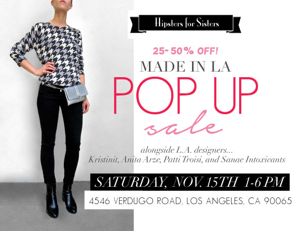 Made in L.A. Pre-Holiday Pop Up Sale