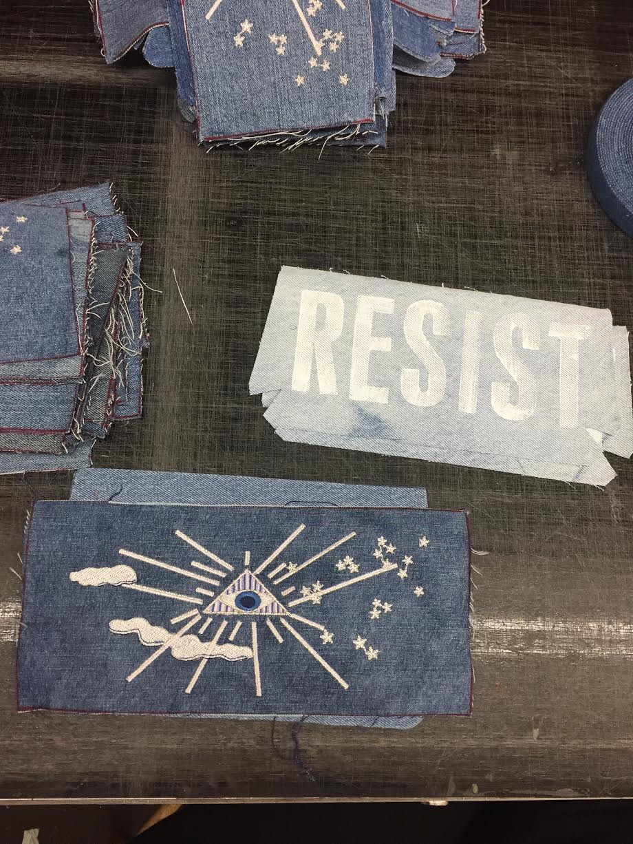 Upcycling Process: Vintage Denim