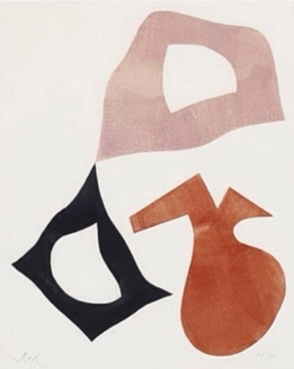 Trois Formes, 1960 by Jean Arp