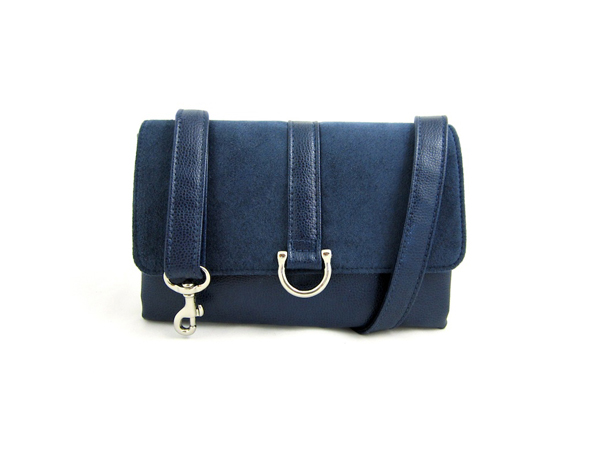 Indigo Flat Belt Bag