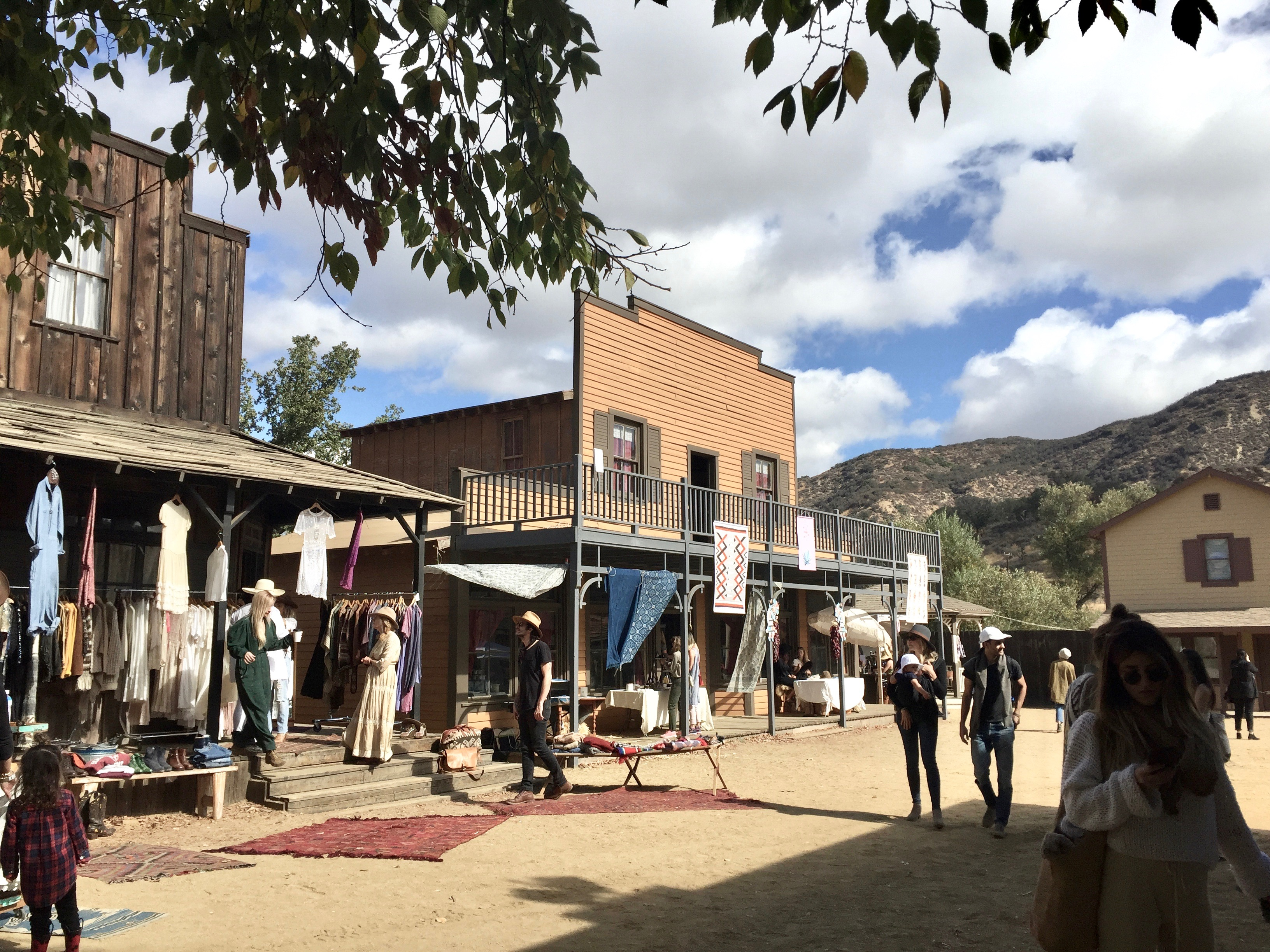 Mercado Sagrado 2017 on Paramount Ranch