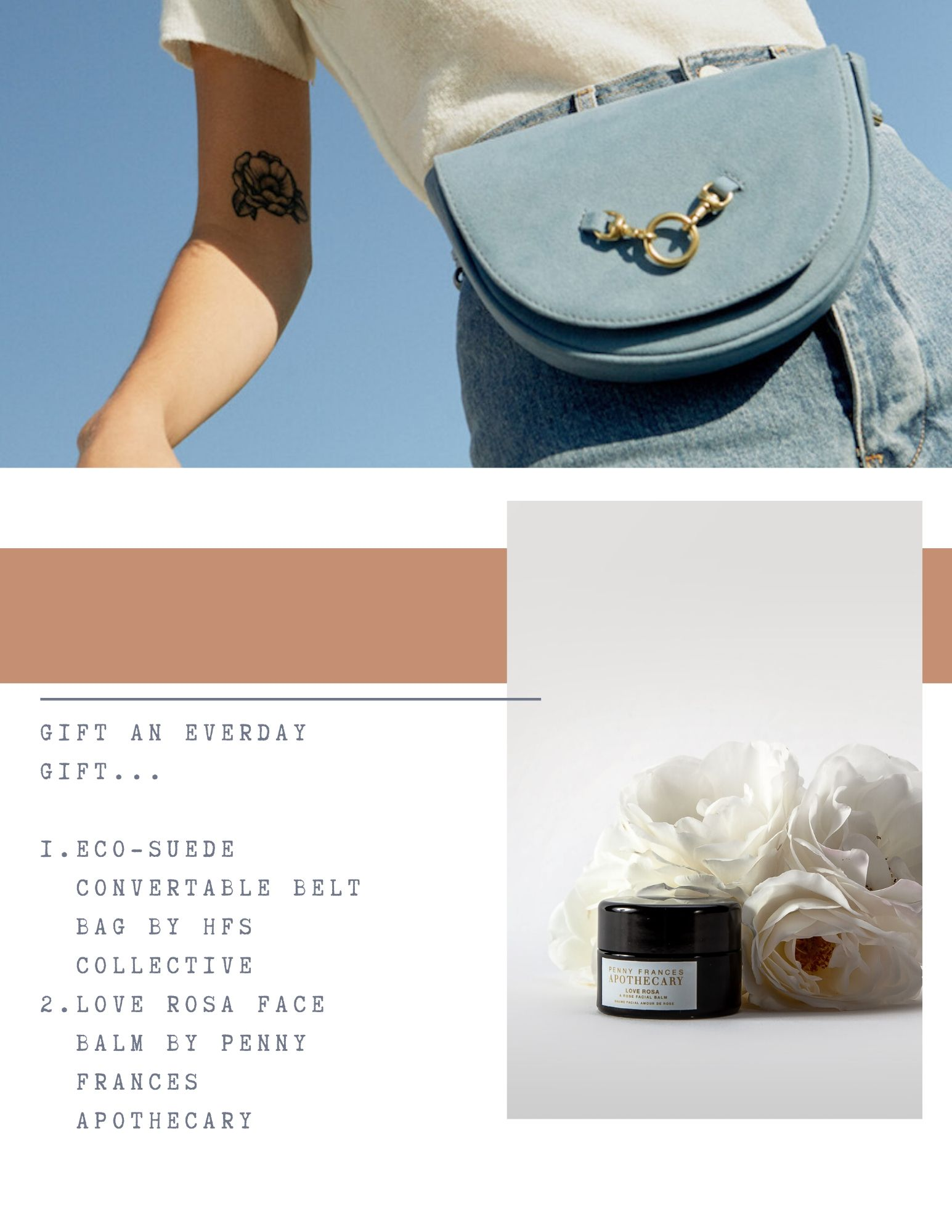 Sustainable Bag - Gifts for Conscious Shopper