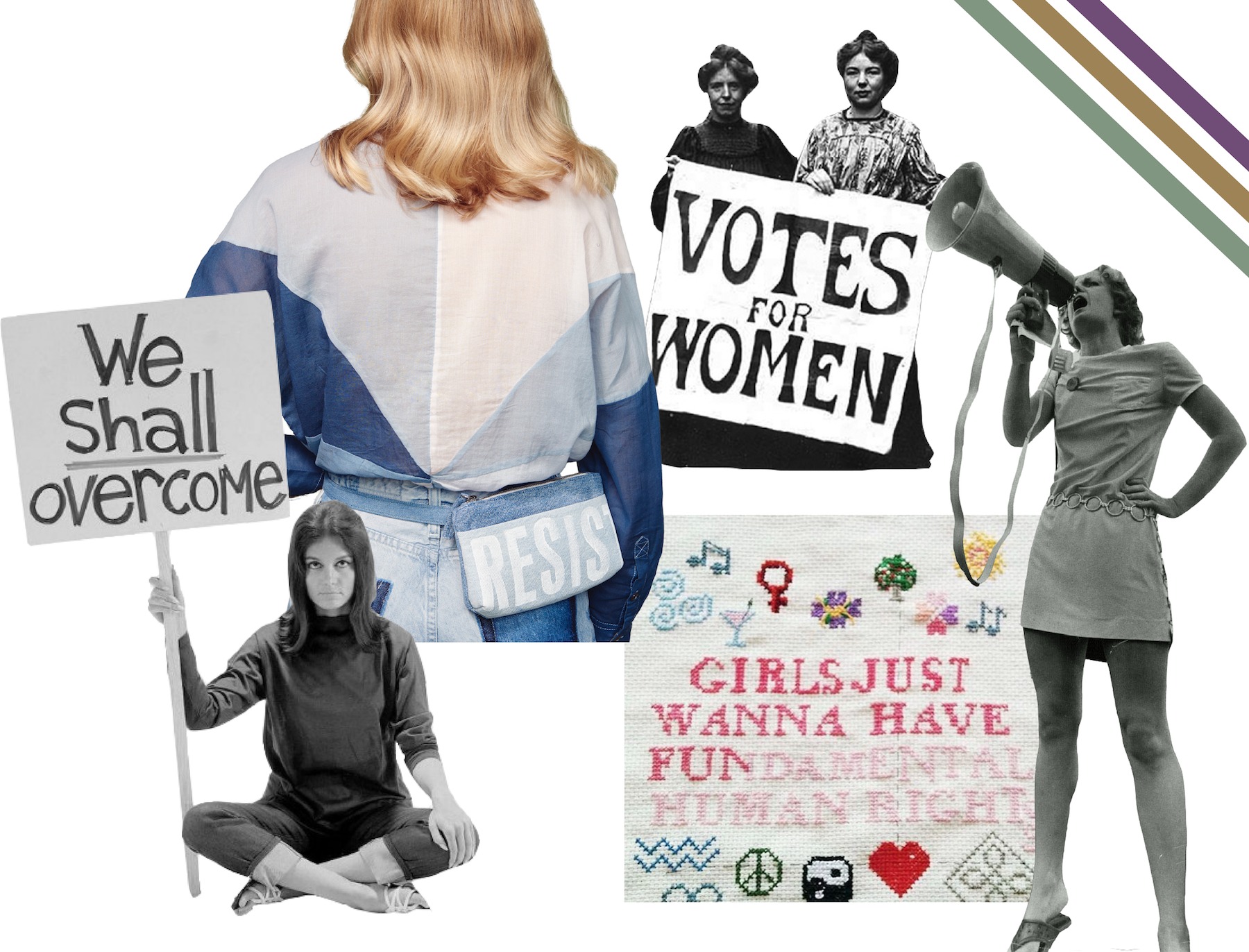 Feminism + Fanny Packs: How Women's Liberation Movement has influenced fashion throughout history