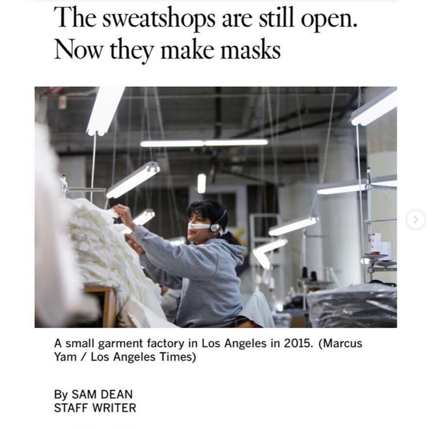Garment Workers of LA