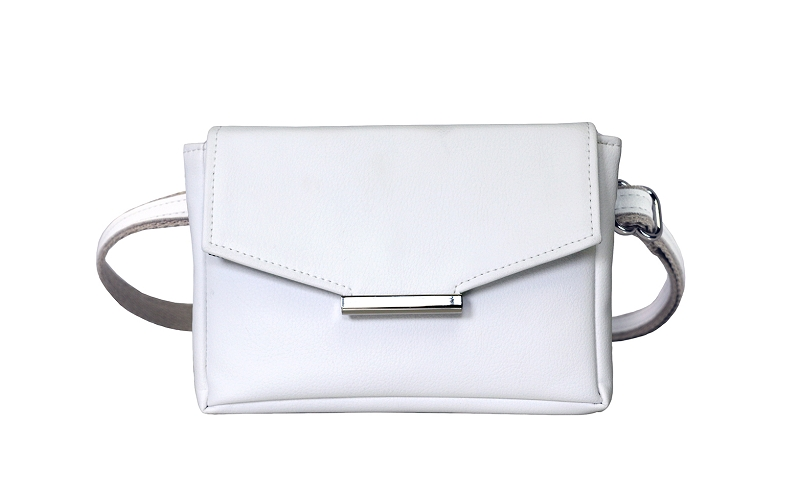 2f6f2fef2db5 Convertible Belt Bag in White Vegan Leather