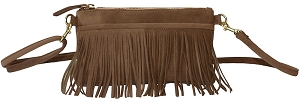 Fringe Belt Bag in Canyon