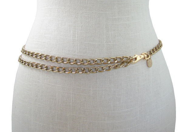 Chain Belt with Charm | hipstersforsisters.com