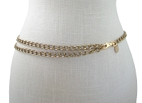 Chain Belt (Gold or Silver)