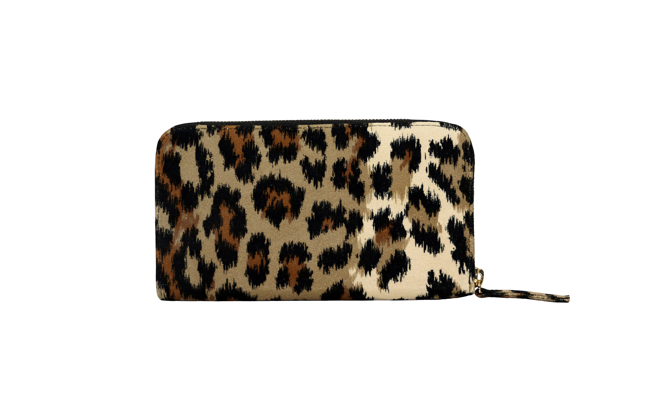 Convertible Wallet in Leopard