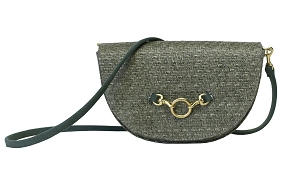 Half Moon Convertible Crossbody in Moss