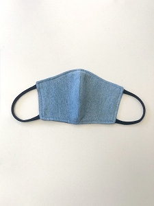 Unisex Face Mask in Upcycled Chambray (Limited Edition)