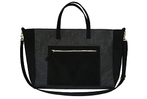 The Commuter Tote in Piñatex