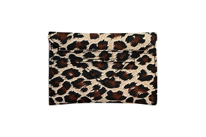 Card Case in Leopard