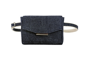 Convertible Belt Bag in Indigo