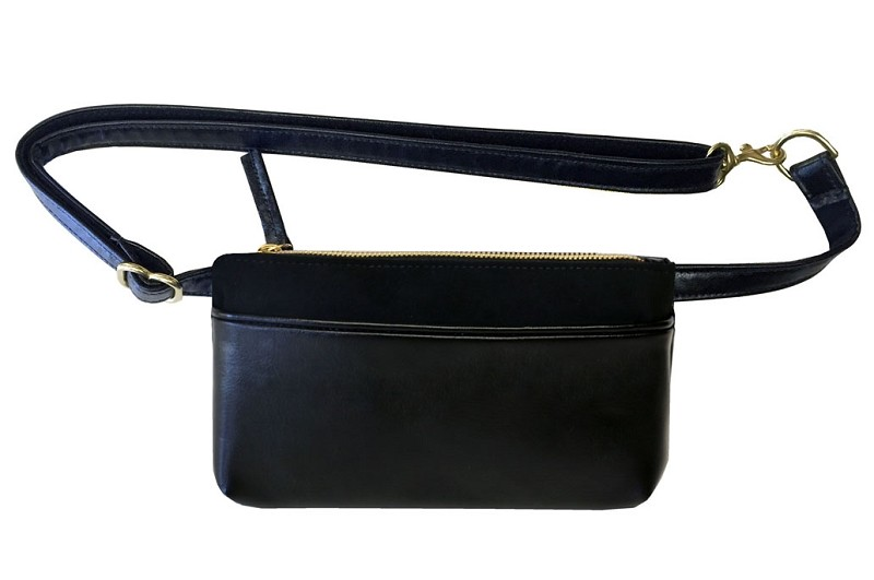 Pocket Bum Bag in Black