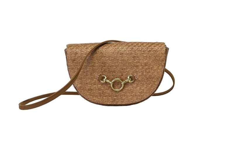Half Moon Convertible Crossbody in Meadow