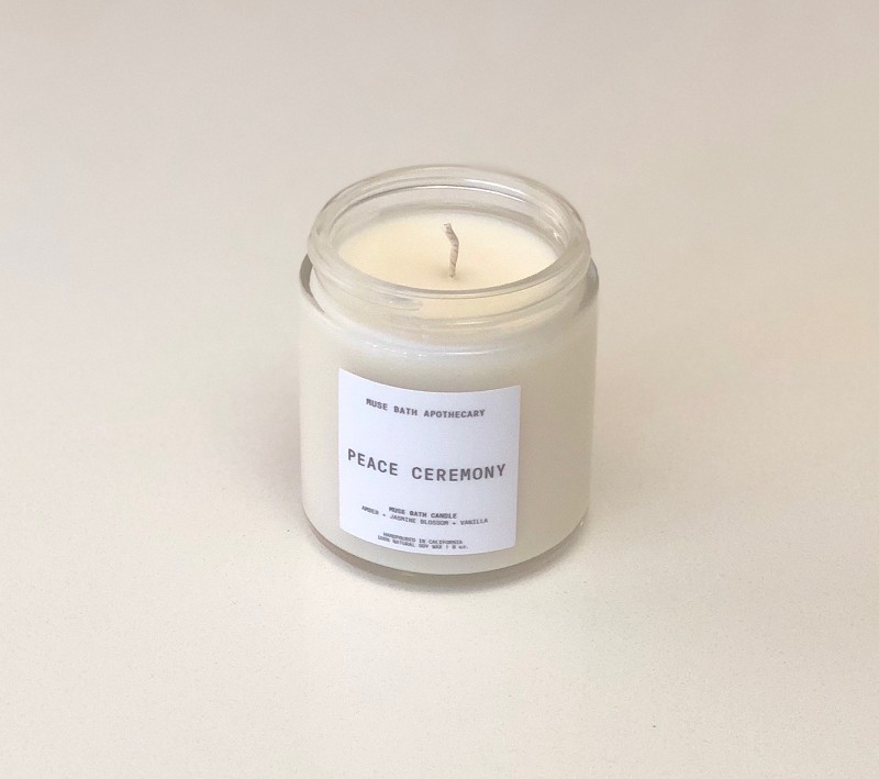 Peace Ceremony Candle by Muse Bath Apothecary
